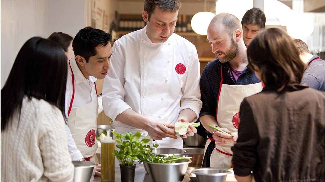 service de cours de cuisine